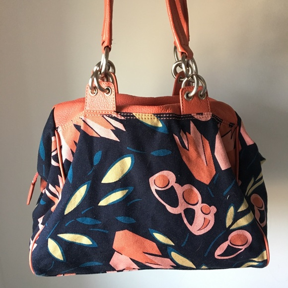 4f07ac34f0 Marc Jacobs Bags   Rare Floral Canvas Leather Handbag   Poshmark